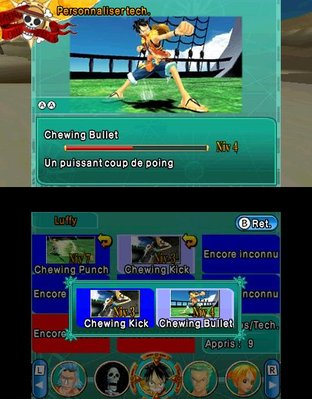 Test One Piece Unlimited Cruise SP 2 Nintendo 3DS - Screenshot 6