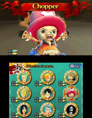 Test One Piece Unlimited Cruise SP 2 Nintendo 3DS - Screenshot 8