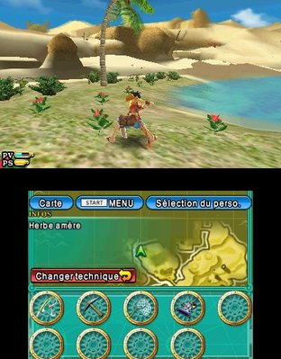 Test One Piece Unlimited Cruise SP 2 Nintendo 3DS - Screenshot 10