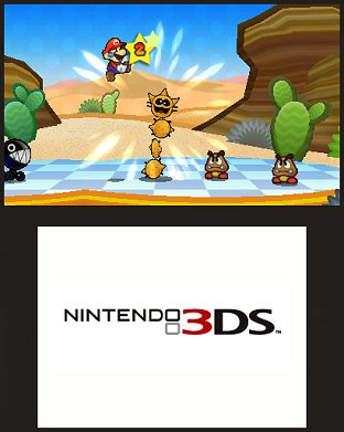 Images Paper Mario : Sticker Star Nintendo 3DS - 9