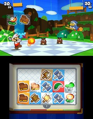 Test Paper Mario : Sticker Star Nintendo 3DS - Screenshot 86