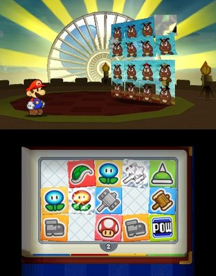 Test Paper Mario : Sticker Star Nintendo 3DS - Screenshot 87