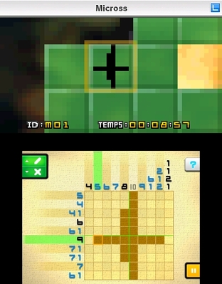 Test Picross e2 Nintendo 3DS - Screenshot 11