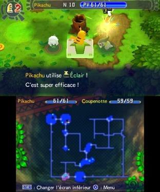 Test Pokémon Donjon Mystère : Les Portes de l'Infini Nintendo 3DS - Screenshot 64