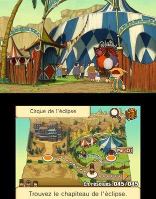 Test Professeur Layton et le Masque des Miracles Nintendo 3DS - Screenshot 184