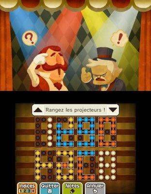 Test Professeur Layton et le Masque des Miracles Nintendo 3DS - Screenshot 185