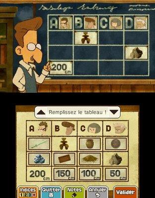 Professeur Layton et le Masque des Miracles 3DS - Screenshot 290