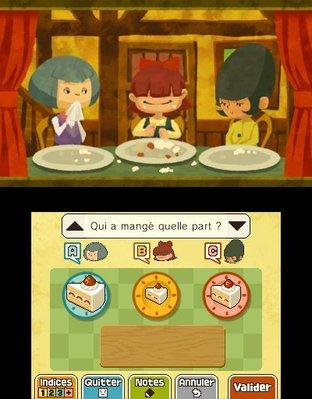 Professeur Layton et le Masque des Miracles 3DS - Screenshot 294