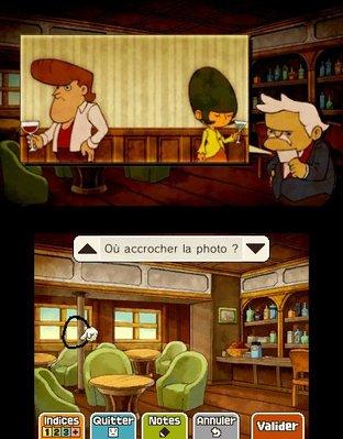 Professeur Layton et le Masque des Miracles 3DS - Screenshot 297