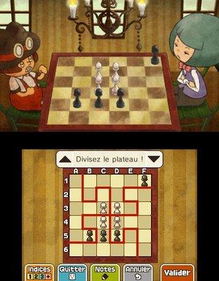 Professeur Layton et le Masque des Miracles 3DS - Screenshot 298
