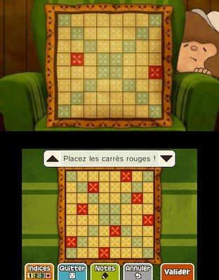 Professeur Layton et le Masque des Miracles 3DS - Screenshot 301