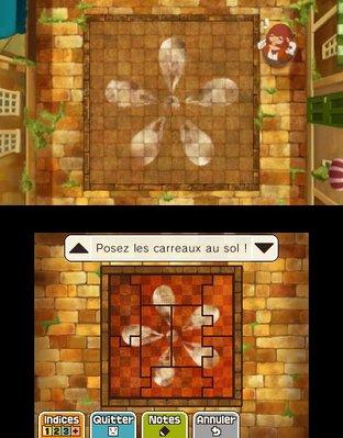 Professeur Layton et le Masque des Miracles 3DS - Screenshot 302