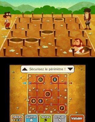 Professeur Layton et le Masque des Miracles 3DS - Screenshot 303