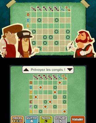 Professeur Layton et le Masque des Miracles 3DS - Screenshot 305