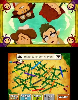 Professeur Layton et le Masque des Miracles 3DS - Screenshot 306