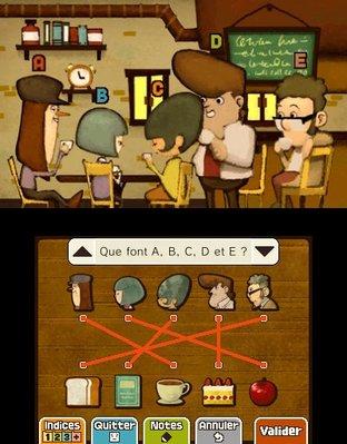 Professeur Layton et le Masque des Miracles 3DS - Screenshot 309