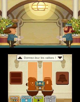 Professeur Layton et le Masque des Miracles 3DS - Screenshot 310