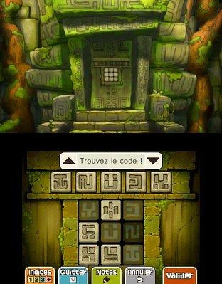 Professeur Layton et le Masque des Miracles 3DS - Screenshot 316