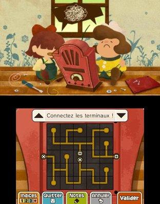 Professeur Layton et le Masque des Miracles 3DS - Screenshot 317