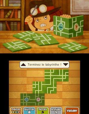 Professeur Layton et le Masque des Miracles 3DS - Screenshot 318