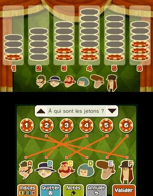 Professeur Layton et le Masque des Miracles 3DS - Screenshot 322