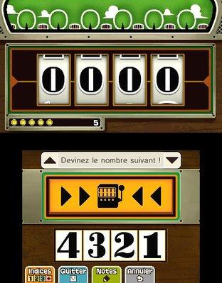Professeur Layton et le Masque des Miracles 3DS - Screenshot 323