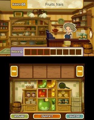 Professeur Layton et le Masque des Miracles 3DS - Screenshot 333