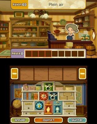 Professeur Layton et le Masque des Miracles 3DS - Screenshot 335
