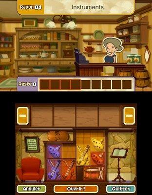 Professeur Layton et le Masque des Miracles 3DS - Screenshot 336