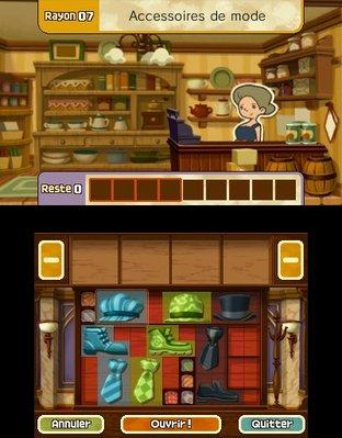 Professeur Layton et le Masque des Miracles 3DS - Screenshot 339