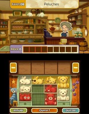 Professeur Layton et le Masque des Miracles 3DS - Screenshot 340