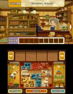 Professeur Layton et le Masque des Miracles 3DS - Screenshot 341