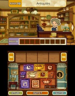 Professeur Layton et le Masque des Miracles 3DS - Screenshot 342