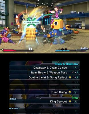 Test Project X Zone Nintendo 3DS - Screenshot 312