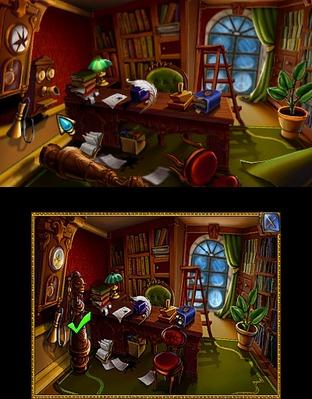 Test Sherlock Holmes : Le Mystère de la Ville de Glace Nintendo 3DS - Screenshot 18
