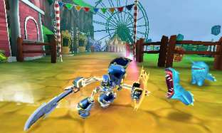 Test Skylanders Giants Nintendo 3DS - Screenshot 1