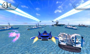 Test Sonic & All Stars Racing Transformed Nintendo 3DS - Screenshot 3