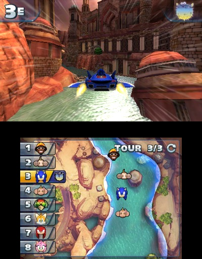 Images Sonic & All Stars Racing Transformed Nintendo 3DS - 34