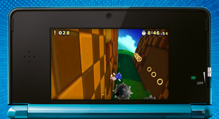 Aperçu Sonic : Lost World Nintendo 3DS - Screenshot 5