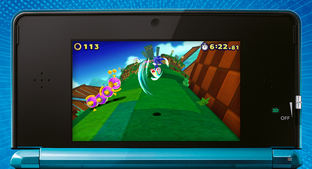 Aperçu Sonic : Lost World Nintendo 3DS - Screenshot 10