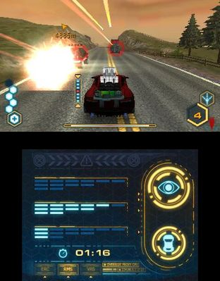 Test Spy Hunter Nintendo 3DS - Screenshot 9