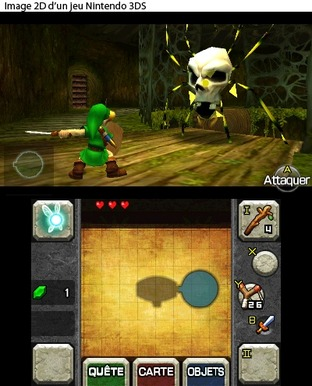The Legend of Zelda : Ocarina of Time 3D Nintendo 3DS