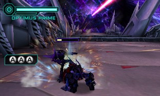 Test Transformers Prime : The Game Nintendo 3DS - Screenshot 24