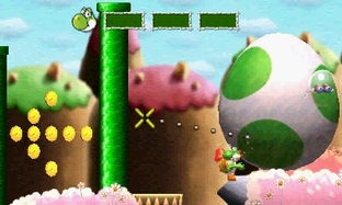 Aperçu Yoshi's New Island - E3 2013 Nintendo 3DS - Screenshot 8