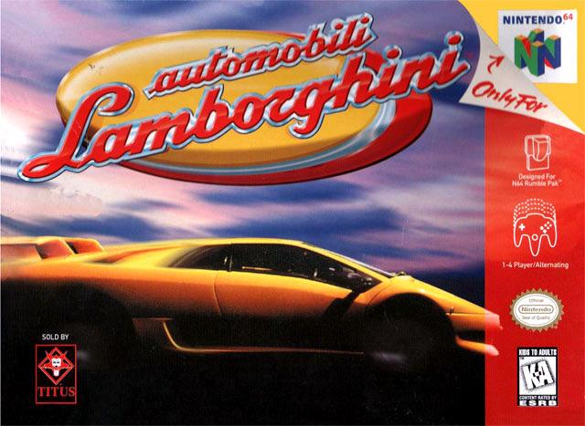 Automobili Lamborghini Sur Nintendo 64 Jeuxvideo Com