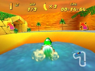 Test Diddy Kong Racing Nintendo 64 - Screenshot 22