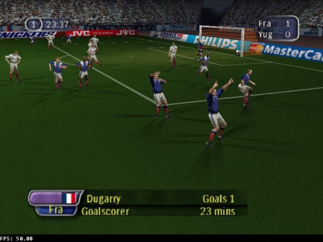 FIFA 98 : En route pour la Coupe du Monde - Nintendo 64 Image 6 sur 7