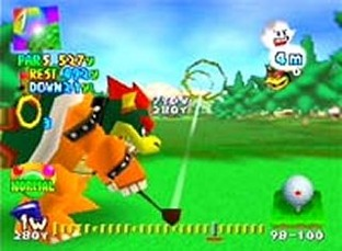 Test Mario golf Nintendo 64 - Screenshot 1