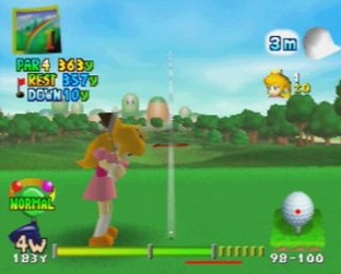Test Mario golf Nintendo 64 - Screenshot 2