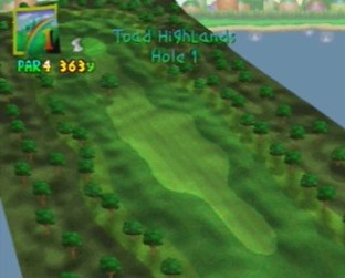 Test Mario golf Nintendo 64 - Screenshot 3